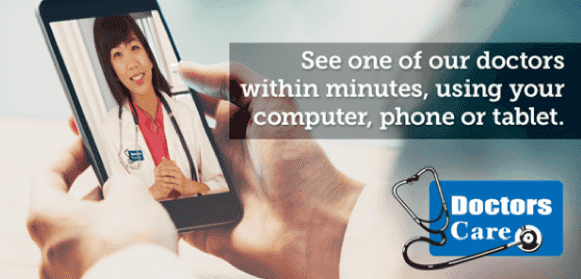 See one of our doctors within minutes, using your computer, phone, or tablet
